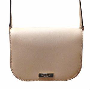 Kate Spade Pale Pink Peach Crossbody Purse Bag
